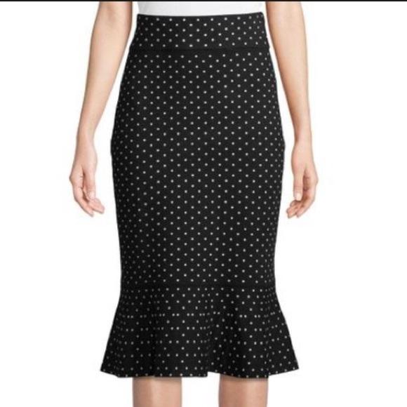 7a471b1f13 Club Monaco Dresses & Skirts - Club Monaco Graciekins Reversible Polka Dot  Skirt